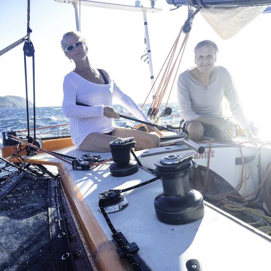 sail in Martinique