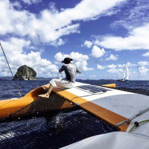 catamaran tour des yoles