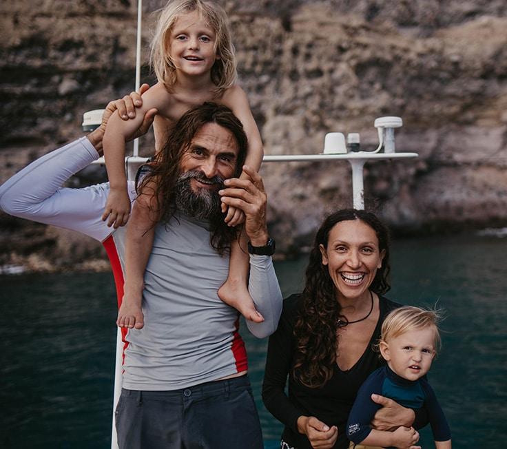 Sortie bateau en famille Martinique